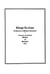 Things to Come - Index